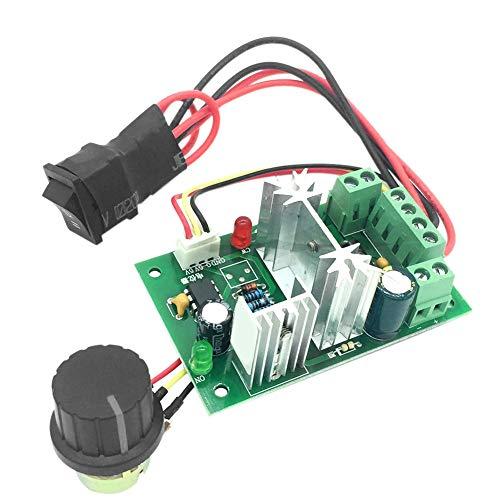 Controlador de velocidad de motor PWM CC reversible CW CCW regulador de velocidad de 6 V 12 V 24 V 10 A
