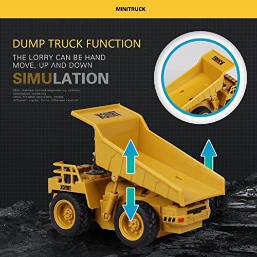 RC Auto kaufen LKW Bild 5: GUOGUO RC Truck 1:16 Mini Baustelle Spielzeug Baufahrzeuge Ferngesteuert für Kinder (Gabelstapler)*