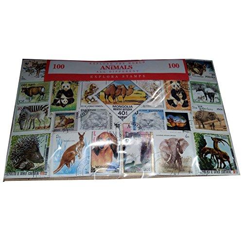 Explora Briefmarken-Set