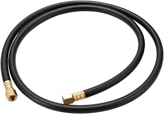 Baugger 1.5 Meter Hose - 1.5 Meter Protective High Pressure Resistance Acetylene Hose Anti-Corrosion Explosion-Proof Flexible Pipe with 2 1/4 Right-Hand Thread Union