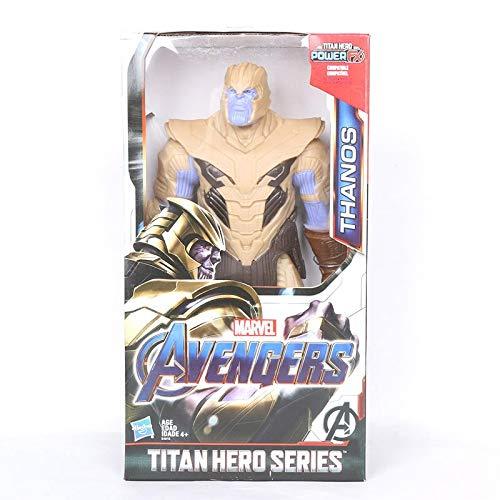 VNUS 12 Inch Scale Marvel Toys Avengers 4 Endgame Spiderman Thanos Hulk PVC Action Figure Ironman Captain America Black Panther Model Figurine