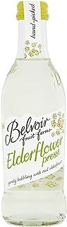 Belvoir Elderflower Presse Glass Bottles, 250 ml