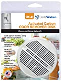 SafeWater Refrigerator Deodorizer Fridge and Freezer Odor Eliminator - Made in the USA, NSF Tested Food Grade Carbon, Outperforms Baking Soda (1-Pack)