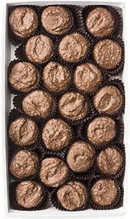 Mrs. Cavanaugh's Coconut Cluster Haystacks | Fancy Milk & Dark Chocolate Gift Box Candy | 1 lb Milk Chocolate