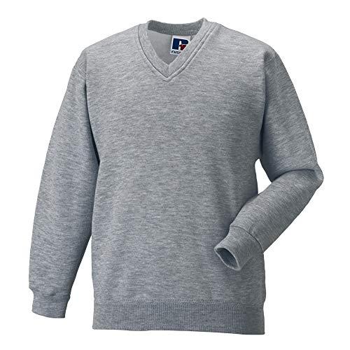 Russell Werkkleding V-hals Sweatshirt Top