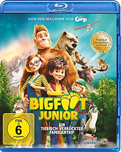Bigfoot Junior - Ein tierisch verrückter Familientrip [Blu-ray]