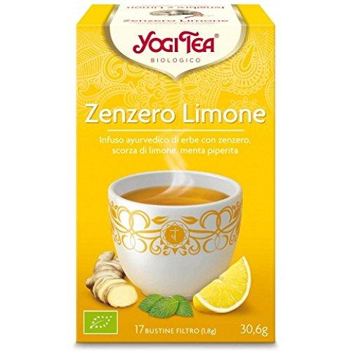 Yogi Tea Té Jengibre Limón - 17 unidades