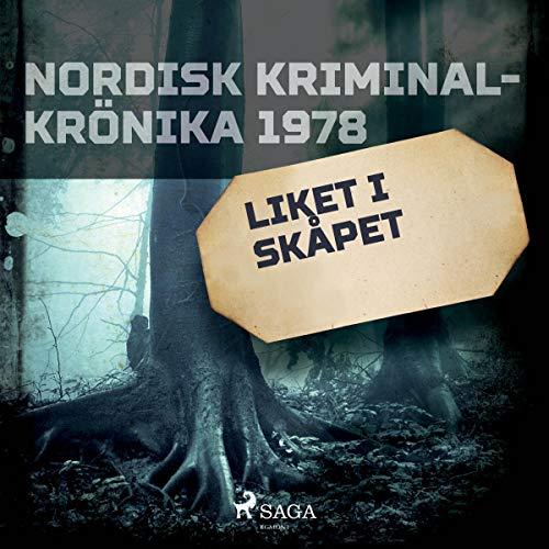 Liket i skåpet audiobook cover art