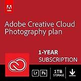 Adobe Creative Cloud Photography plan 20GB: Photoshop + Lightroom | 1 Year | PC/Mac | Key Card & Download