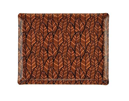 PLATEX 4037281161 Plateau Acrylique-Wax, Orange, 37x28cm
