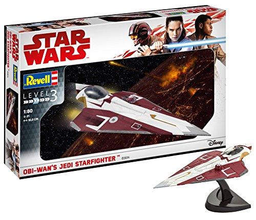 Revell- OBI Wan's Jedi Starfighter Maqueta Astronave Star Wars, 10+ Años, Multicolor (03614)