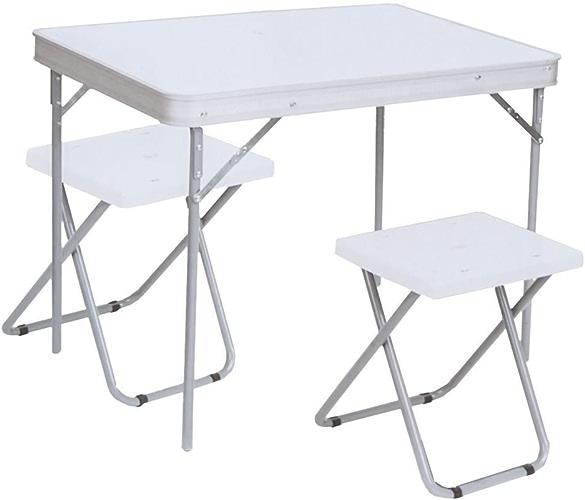 Generic Ghtweight Camping Pique-Nique Camping Pique-Nique Table Pliante avec léger Chaises Trekker Table Pliante avec CHA