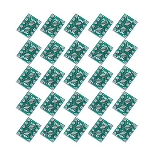 Naliovker 20 Stücke Sop10 Msop10 Sop23 zu Dip-10 Pinnwand SMD 0,5 Mm / 0,95 Mm Dip Pin Pitch