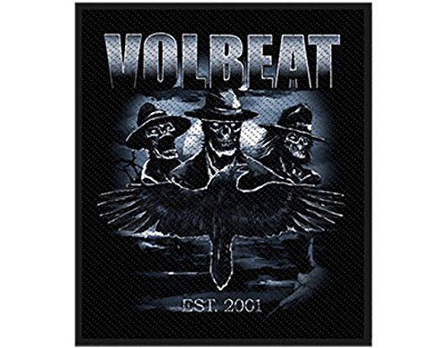 Volbeat Outlaw Raven Aufnäher/ Patch