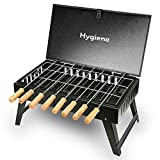 Hygiene Future Home Suitcase Charcoal Barbeque Grill for Home