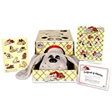 Basic Fun Pound Puppies Classic Stuffed Animal Plush Toy - Great Gift for Girls & Boys - 17' - Gray