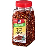 USDA Certified Organic; Non GMO Project Verified From America's #1 Herb and Spice Brand Crushed organic red pepper works in any recipe that calls for fiery chili peppers Easy to handle bottle for refilling spice jars; larger size so you always have o...