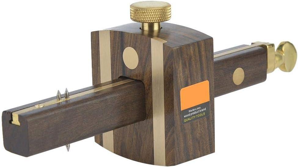 Large-scale sale Carpentry Marker Scraper Ebony Ranking TOP19 8'' Pin Marking Dual Woodworking