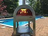 ilFornino Basic Wood Fired Pizza Oven- High Grade Stainless Steel, New York
