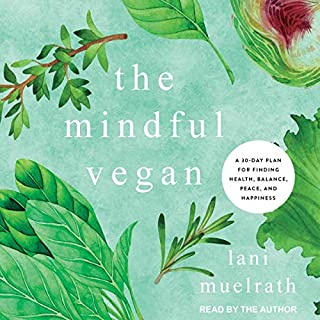 The Mindful Vegan audiobook cover art