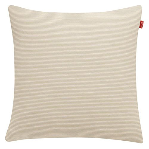 Esprit Home 21455-030-38-38 Kissenhlle Needlestripe Gre 38 x 38 cm, nature