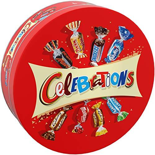 CELEBRATIONS - Assortiment de chocolats - Boîte Métal de 435g