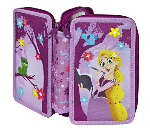 Disney Rapunzel Doppeldecker, gefülltes Schüleretui
