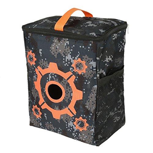 FTVOGUE Tragbare Zweck-Ziel-Beutel-Speicher-Tragen Ausrüstungs-Tasche für Nerf-Gewehr-Darts N-Streik-Auslese