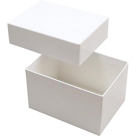 小さいギフトボックス 貼り箱No.05 白 (134×98×80) 5個セット(ギフトボックス ギフト箱 化粧箱 紙箱 贈答用 収納ボックス 小物収納 小物入れ 箱 白)
