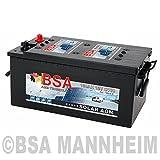 BSA Solarbatterie 12V 180Ah Solar Akku Wohnmobil Boot Schiff Versorgung AGM Gel Batterie