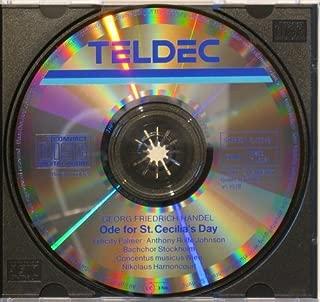 Handel - Ode to St Cecilia's Day - (Harnoncourt Edition) (Teldec)