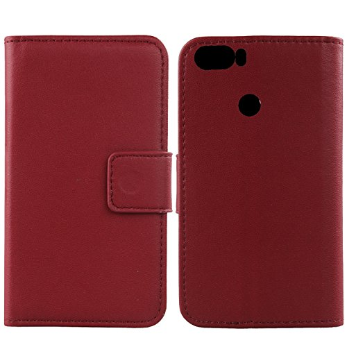 Gukas Design Echt Leder Tasche Für Gigaset GS370 Plus 5.7