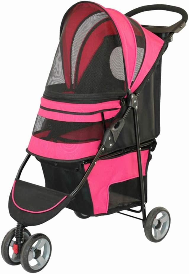 QIAO Pet Ranking TOP17 Stroller Collapsible Breathable Limited time for free shipping W Rotation Front 360°