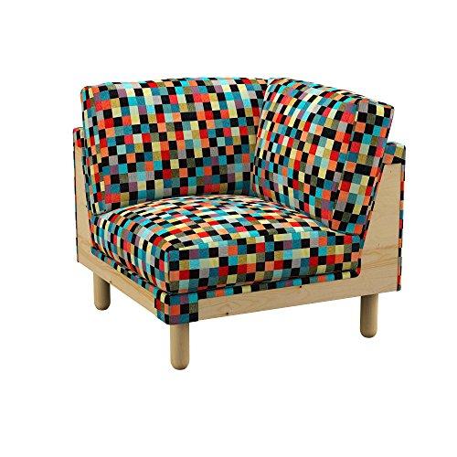 Soferia - IKEA NORSBORG Funda para módulo de Esquina, Mozaik Red