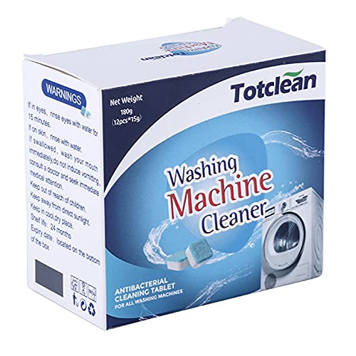 Totclean Washing Machine Cleaner Deep Clean Tablets Dishwasher Kettle...