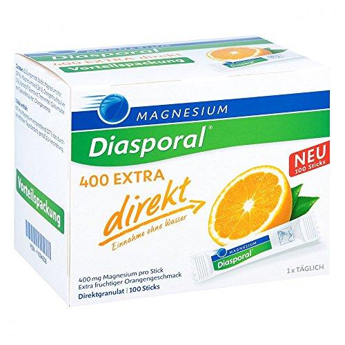 Magnesium-Diasporal 400 extra direkt Direktgranulat Sticks, 100 St. Beutel