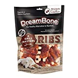 DreamBone Grill Masters Ribs, No-Rawhide Chews for Dogs, 7 Full Racks (DBGM-00340)