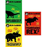 so you think you know about dinosaurs 3 books collection set