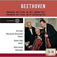 Pablo Casals - Beethoven: Piano Trios No.5 Ghost & No.7 Archduke [Japan CD] UCCD-7341 by Pablo Casals