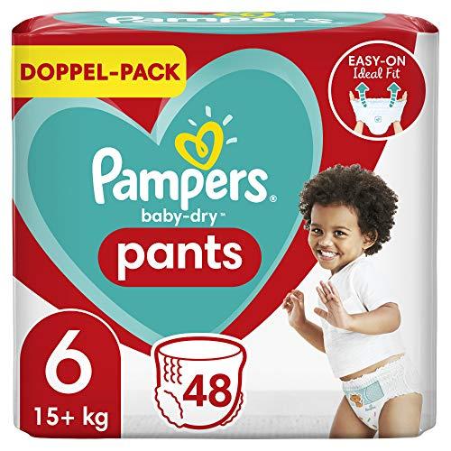 Pampers Baby-Dry Pants 6, 48Höschenwindeln, 15kg+