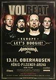 Volbeat - Let`s Boogie, Oberhausen 2016 »