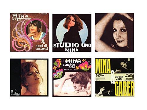 Offerta Speciale 6 CD Mina, 4 Anni di Successi,Studio uno,Sabato Sera, Mina...