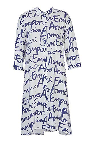 Emporio Armani Swimwear Dames shirt Dress Beachwear Holiday Getaway strandjurk