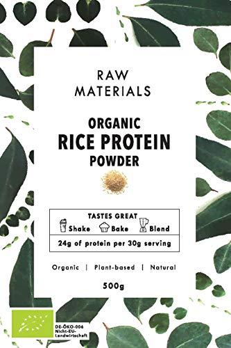 MINDFUEL Bio Reisprotein Pulver | Rice Protein | 500g | 24g Proteingehalt pro Portion | Veganes Eiweißpulver | Ohne Gluten, Soja und Laktose