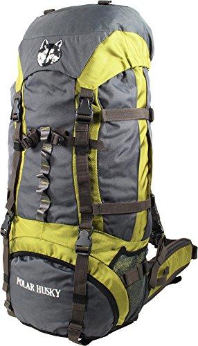 Polar Husky® Outdoor Rucksack mit Aluminiumverstärkung in verschiedenen Größen Farbe Steffen