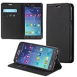 ECENCE Samsung Galaxy J7 (2016) Housse Wallet Portefeuille Case Cover Pochette Etui...