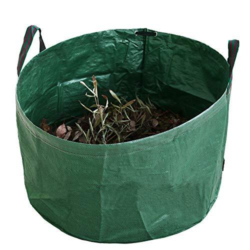 TTFGG Jardín Bolsa De Residuos,1/2/3 PC Heavy Duty Jardín Reutilizable Residuos Bolsas De Basura Sacks Ideal para Hojas,Hierba Esquejes,Weeds Y Otros Residuos (81 X 46Cm),01
