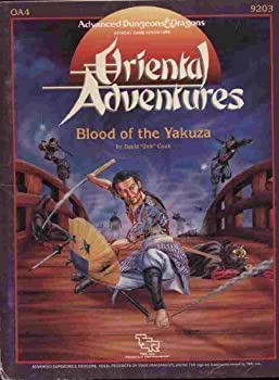 OA4 Blood of the Yakuza - Book  of the Advanced Dungeons and Dragons Module #C4
