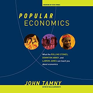Popular Economics audiobook cover art