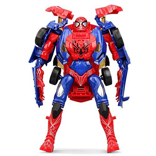 Siyushop Transformateurs Jouets, Deformed Voiture Jouet, Spider Robot, Modèle Hero Rescue - Le Cadeau Parfait for Dreams Héros des Enfants (avec Armes)